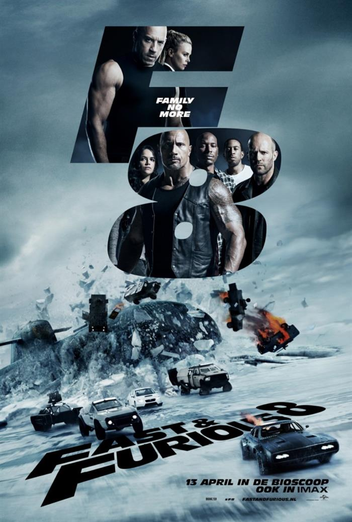 Rychle a zběsile 8 / Fate of the Furious, The (2017)